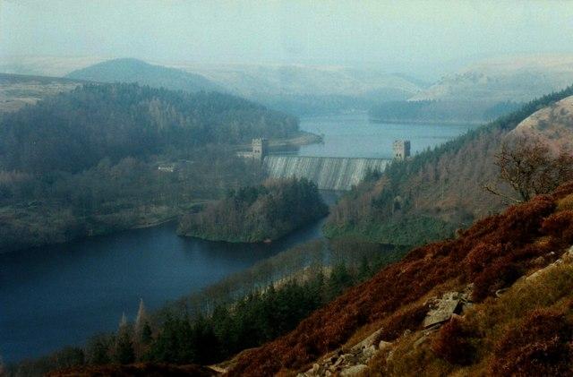 Overlooking Ladybower/Derwent Reservoirs