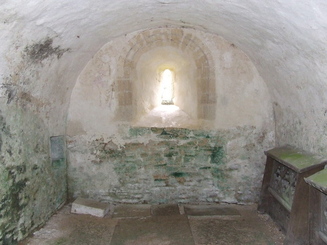 The Crypt  Duntisbourne Rouse Church