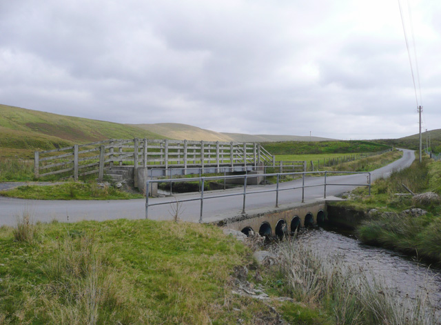 Bridges across the Camddwr, Ceredigion