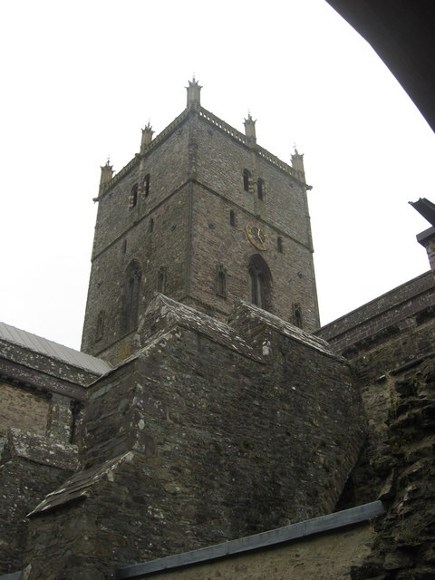 St David's Cathedral tower
