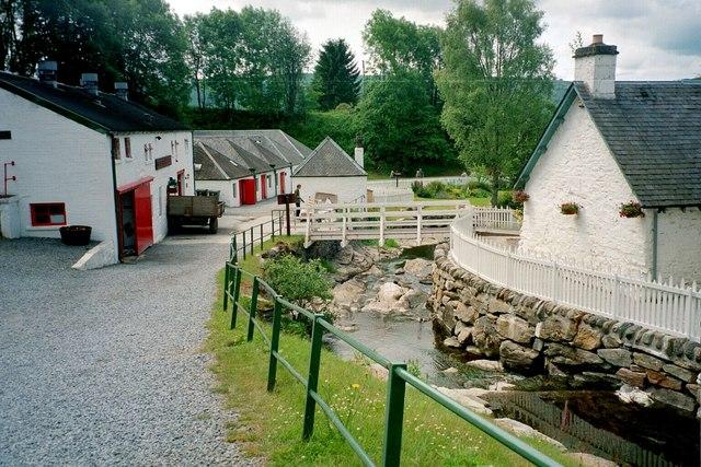 Edradour, Distillery