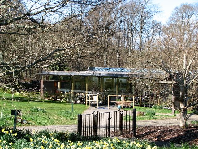 Shop and Cafe at Dawyck Botanic Garden