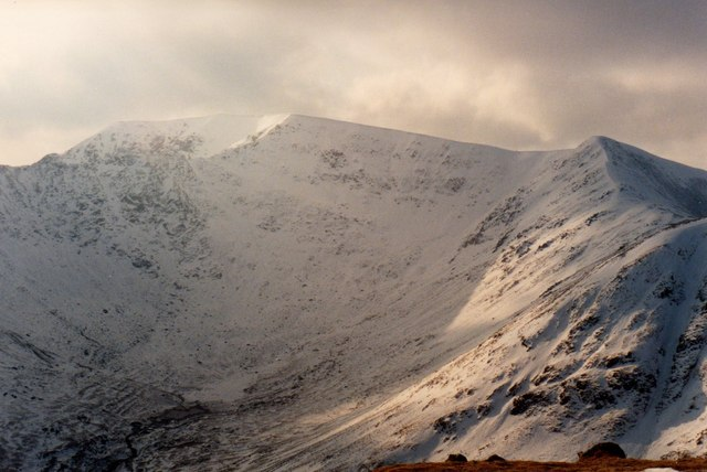 Helvellyn, Swirral Edge and Lower Man