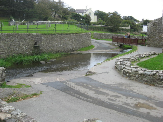 Ford across the River Alun in St David's