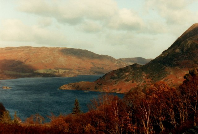Windy day over Ullswater