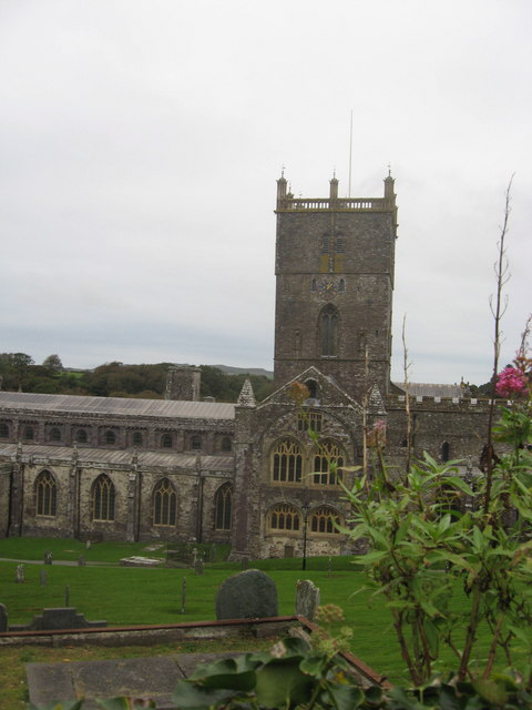 St David's cathedral southerly aspect