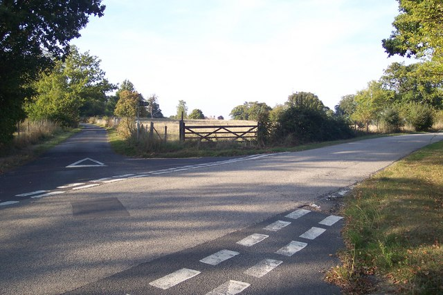 The High Weald Landscape Trail on Brick Kiln Lane