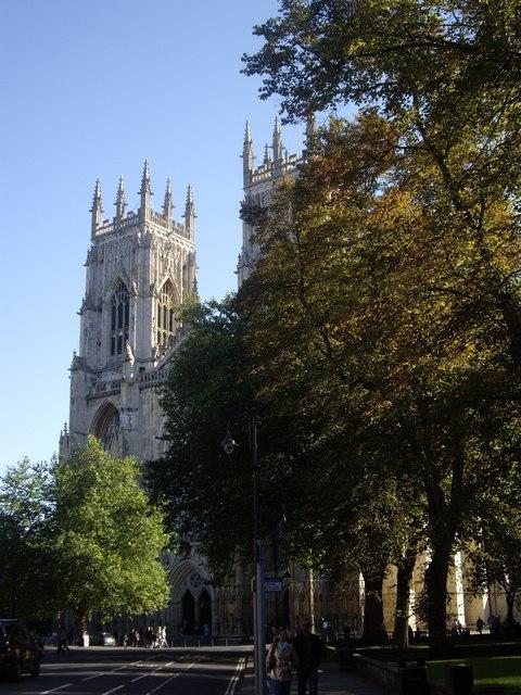 West door, York minster