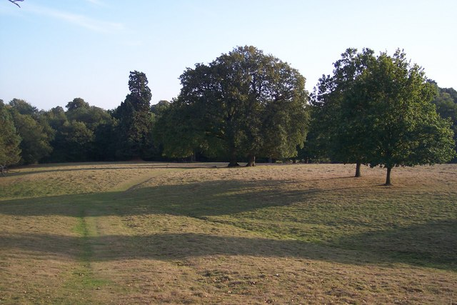 High Weald Landscape Trail in Rectory Park