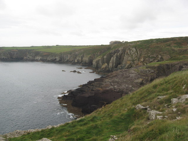 St Non's bay from the Pembrokeshire coastal path