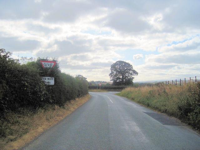 Main Road ahead