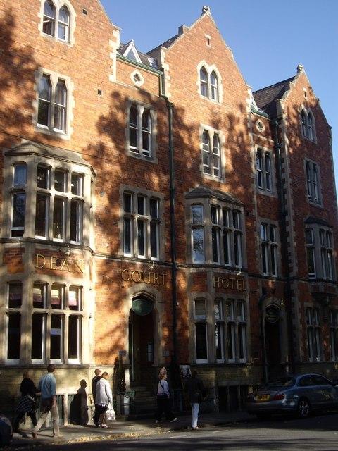 Facade of Dean Court Hotel