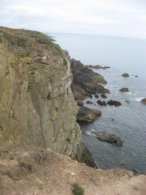 St Non's bay from the Pembrokeshire coastal path