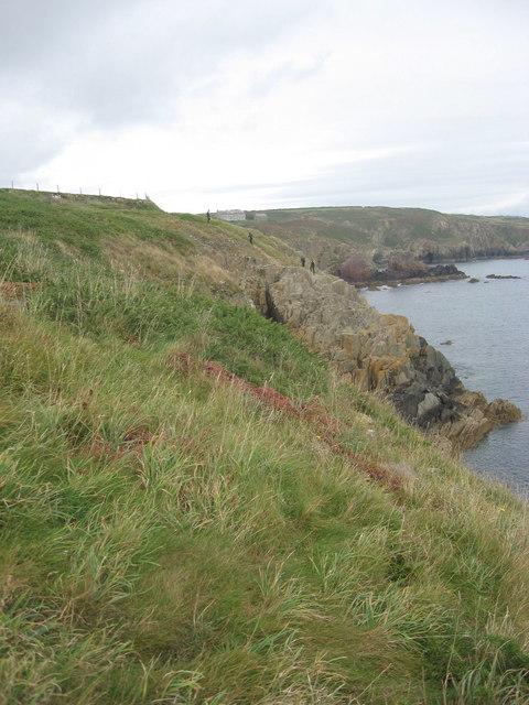 St Non's bay from Trwyn Cynddeiriog