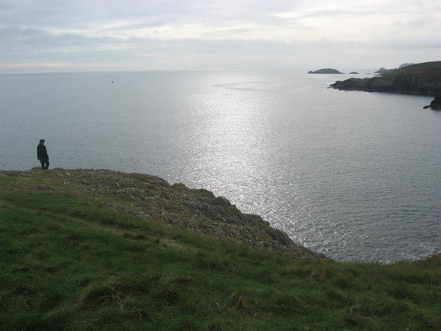 Porth Ffynnon  from Trwyn Cynddeiriog