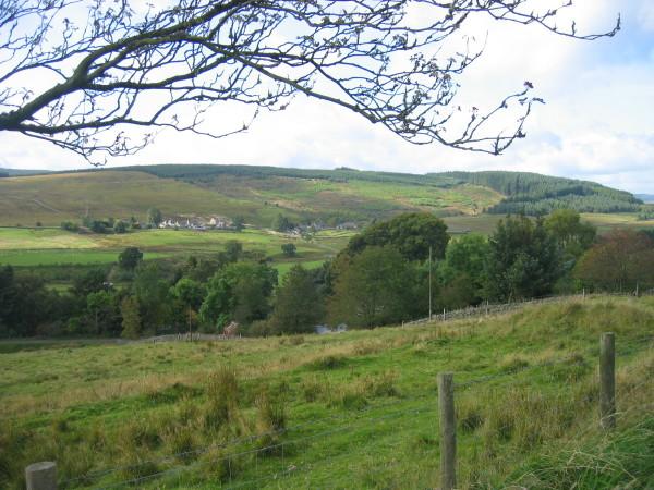 View towards Stannersburn