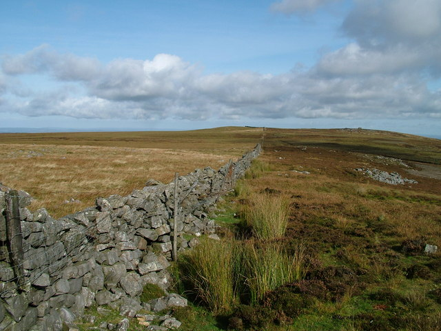 Wall between Whitfield Law and Pike Rigg