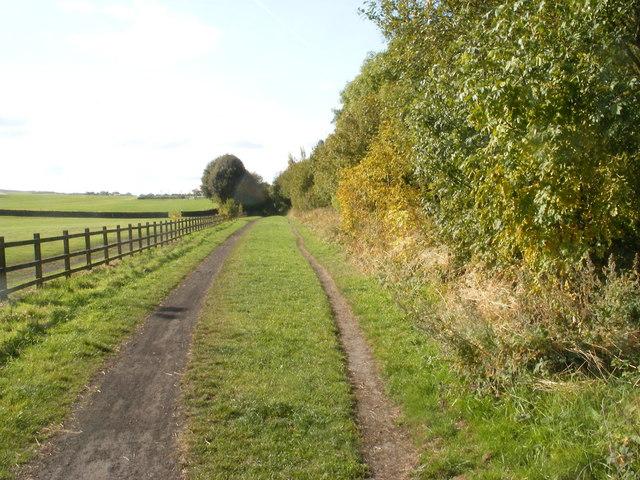 Trans Pennine Cycle Trail near Penistone