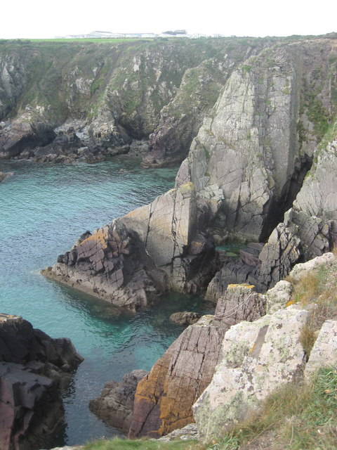 Porth Ffynnon from the Pembrokeshire Coastal Path