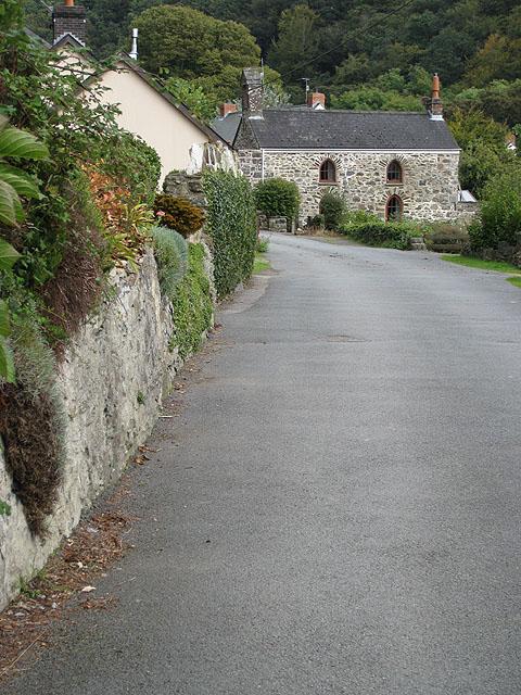 Former chapel, Glyn-y-mel Road