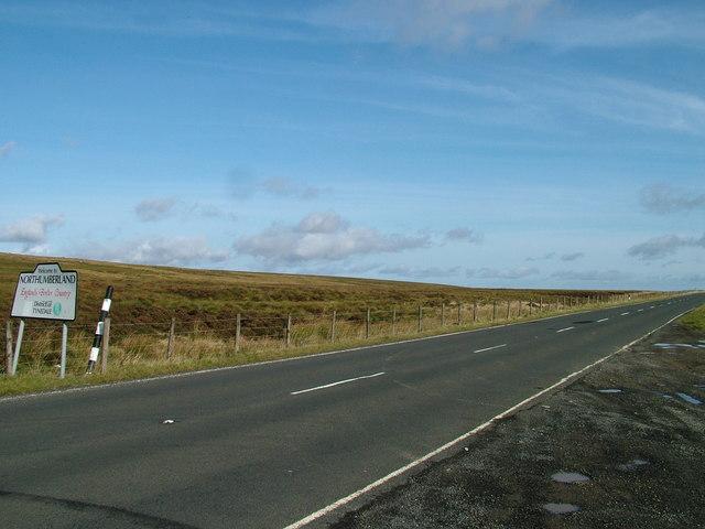 The Northumberland Cumbria border