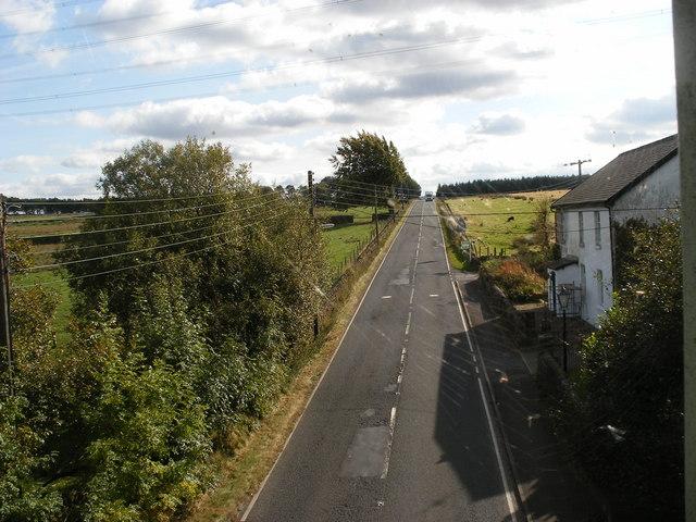 A616 Whams Road from Hazlehead Bridge