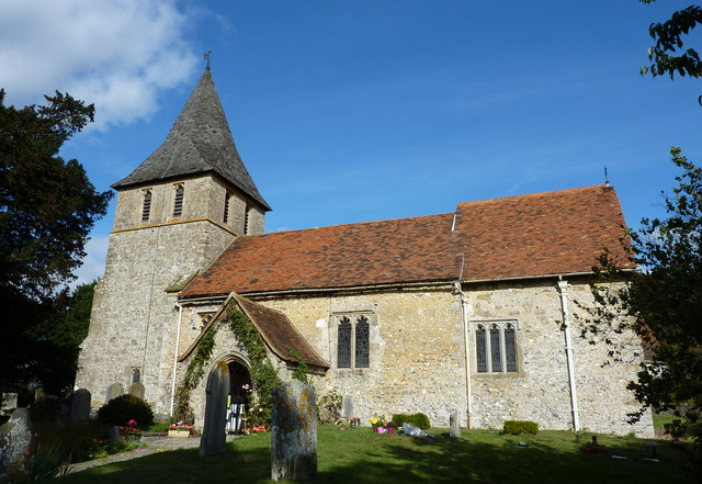 The medieval church of St. Martin of Tours, Detling