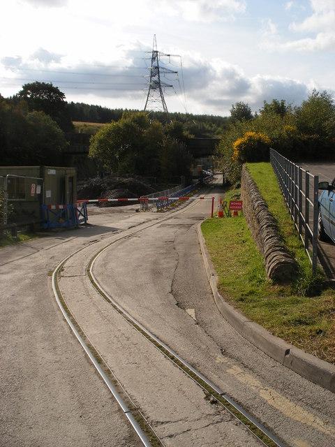 Old rails near Dunford Bridge