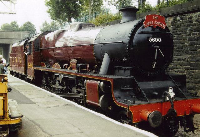 LMS 5690 Leander at Bury Bolton Street