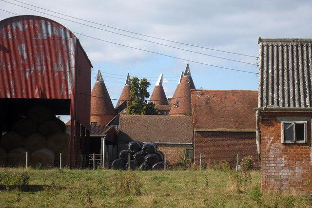 Spelmonden Old Oast, Goudhurst, Kent