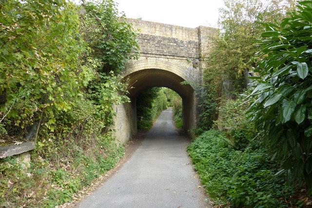 Railway bridge over Chapel Lane, Bearsted