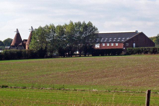 Oast Houses at Spelmonden Farm, Spelmonden Road, Goudhurst, Kent