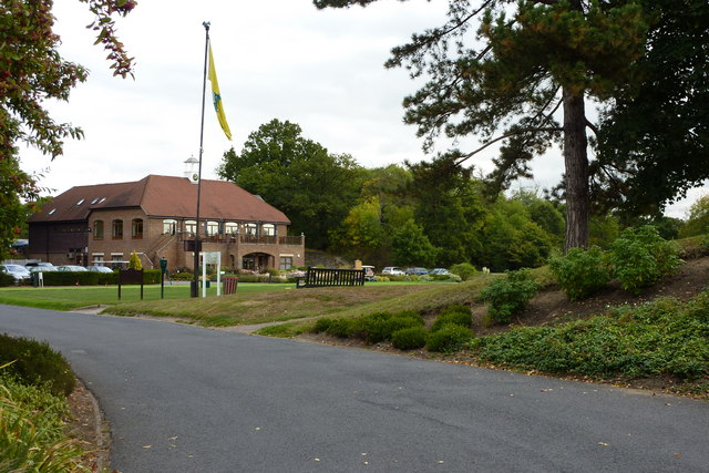 The entrance to Bearsted Golf Course