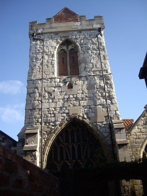 Tower of Holy Trinity Church, Goodramgate