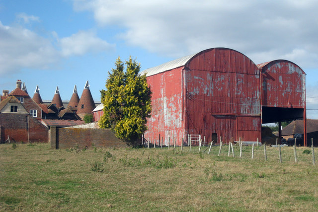 Farm Buildings at Spelmonden Farm