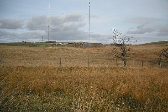 Rough grazing, Salsburgh