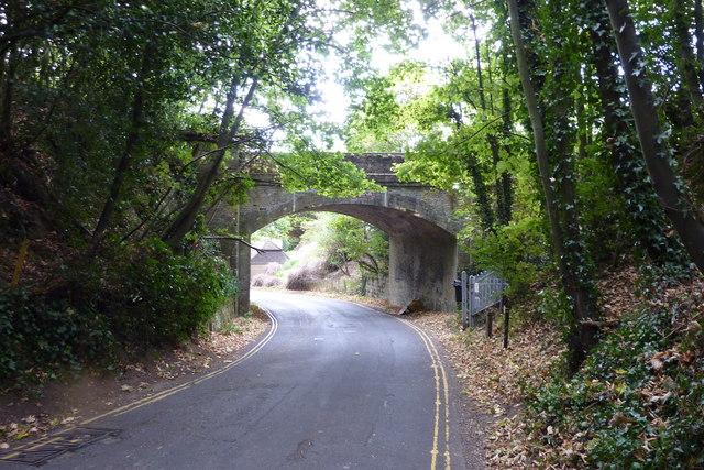 Railway bridge over Thurnham Lane, Bearsted