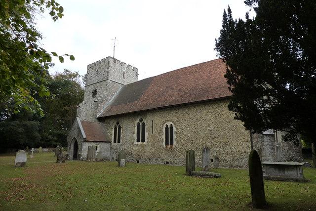 The church of St. Mary the Virgin, Thurnham