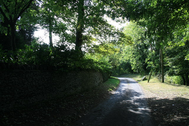 The road to Shilton ford