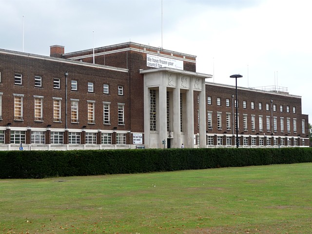 Civic Centre, Rainham Road North (2)
