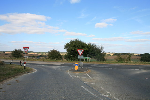 Junction on the A40