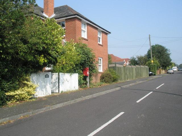 Postbox in Moorlands Road
