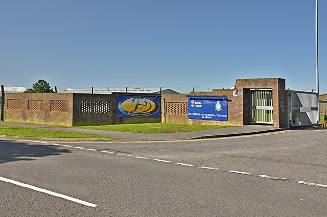 Airfield entrance - St Athan