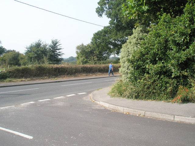 Junction of Moorlands and Swanmore Roads