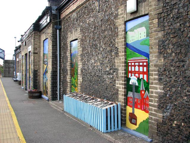 Brandon railway station  (detail)
