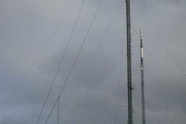 New Black Hill mast