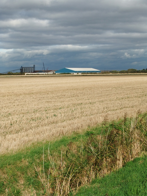 Looking towards New Holland