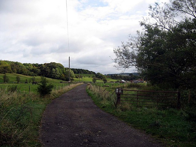 Road to Armonside Farm