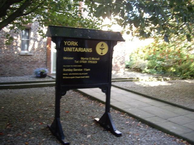 Access to Unitarian Church