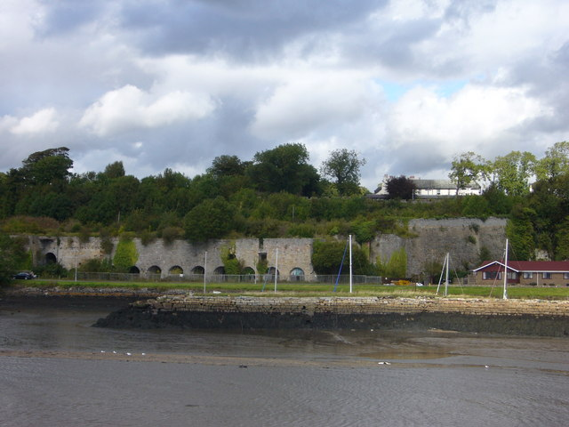 Disused lime kilns from Charlestown Harbour